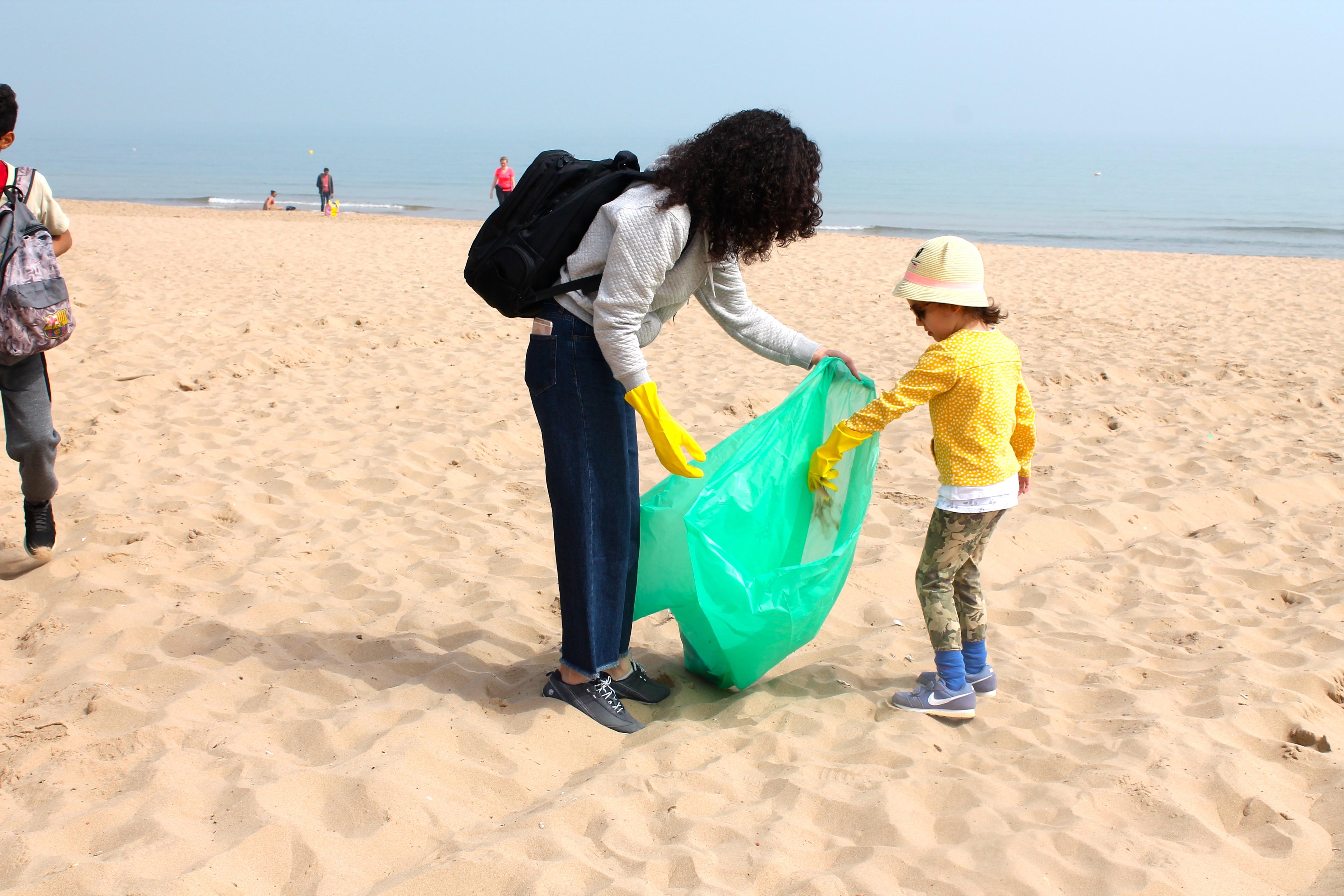 Beach Clean In Tunis